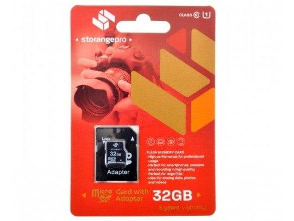 STORANGE KARTA PAMIĘCI 32GB microSDHC CLASS 10