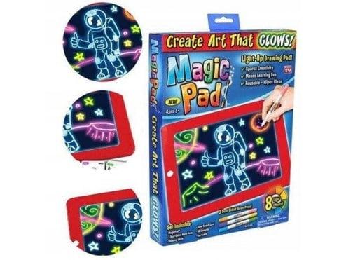 MAGICZNY TABLET MAGIC PAD LED TABLICA ZNIKOPIS