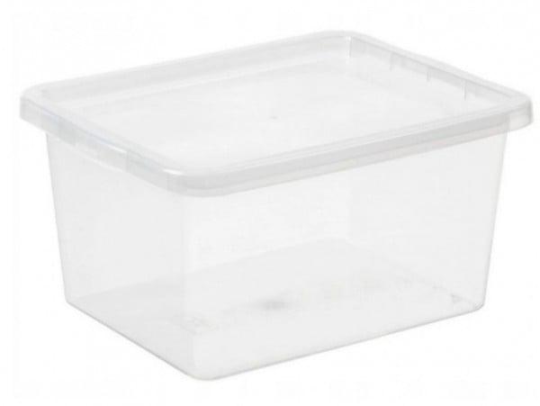 POJEMNIK Z POKRYWĄ BASIC BOX 20L DO PRZECHOWYWANIA