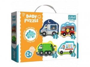 TREFL PUZZLE BABY CLASSIC POJAZDY I ZAWODY