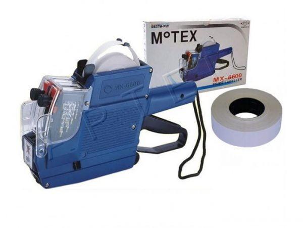 METKOWNICA DWURZĘDOWA 23x16 MOTEX MX-6600